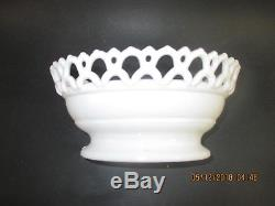 Fox Covered Milk Glass Dish Atterbury Patd 1889