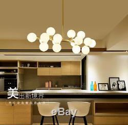 G4 Modo Bean LED Milk Glass Pendant Lamp Globe Ball Lampshade Art Droplight