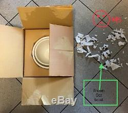 HAZEL ATLAS DOT Mixing bowl set ORIGINAL BOX unused perfect 3 of 4 NOS set #8749