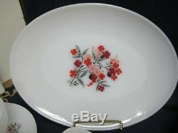 Lot of 35 Vtg Fire King Primrose Pattern Dishes Cups Saucers Creamer Sugar Bowls