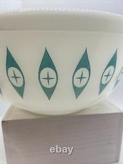 MCM Rare Vintage Pyrex Atomic Eyes Large Mixing Bowl