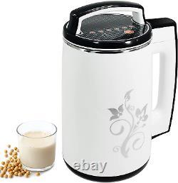 MXBAOHENG Soy Milk Maker Automatic Soybean Making Machine Nut Milk Maker Juicer
