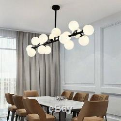 Magic Bean G4 LED Milk Glass Pendant Lamp Globe Ball Lampshade Art Droplight