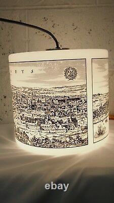 Pendant Ceiling Hanging Light White Glass ARLUS Vistosi Holmegaard French Milk