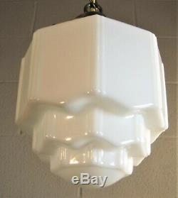 Pendant Light Mini Sky Scraper Chandelier Antique Shade Unique Piece