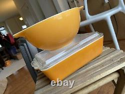 Pyrex Friendship Cinderella Mixing Bowls Set 441 442 443 444 Casserole Dish 503