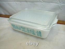 Pyrex Refrigerator Freezer Fridge Set Cinderella Casserole Amish Butterprint Lid