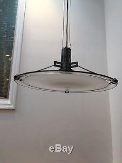 REDUCED! Chandelier 70's de majo murano vintage chandelier White Milk Glass