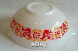 Set of 3 Pyrex Friendship Cinderella Mixing Bowls 442 443 444