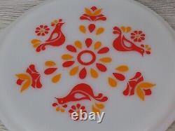 Set of 3 Vintage PYREX Friendship Casserole Dishes With Lids 473 / 474 / 475 c