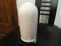 Vintage Lot Of 7 Frank Lloyd Wright Jr. White Milk Glass Bullet Fitter Shade