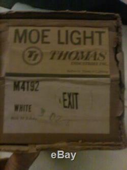 Vintage Mid Century EXIT light