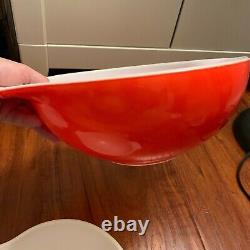 Vintage Pyrex Friendship Cinderella 4 piece bowl set