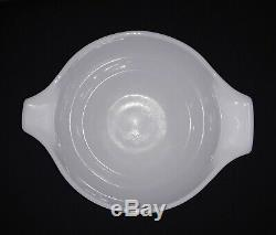Vintage Pyrex Pink/White Gooseberry Cinderella Bowls #441, 443, 444 (set of 3)