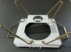 Vintage Rodney Kent Starline 813 Food Warmer Federal Glass Casserole Chafing