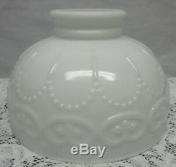 Vintage White Milk Glass Aladdin Rayo Coleman Lamp Shade Globe